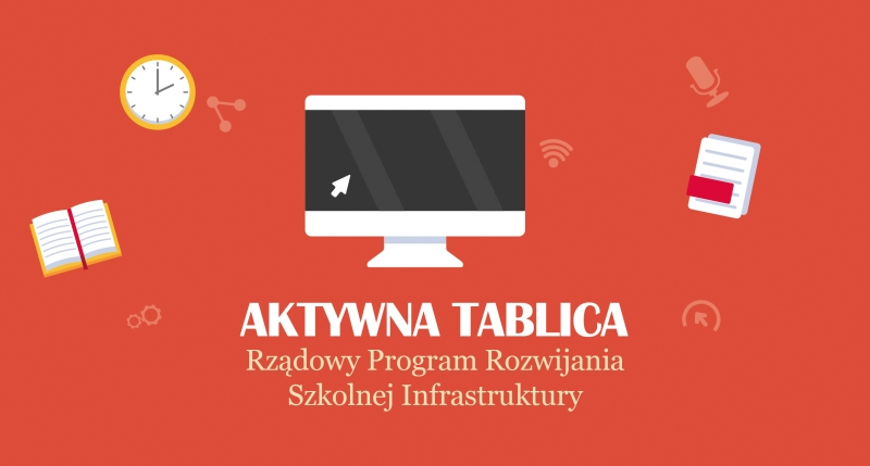 """Program """"Aktywna Tablica"""" w nowotomyskich szkołach podstawowych"""