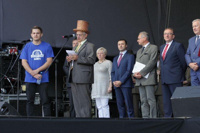 Oficjalne otwarcie III Światowego Festiwalu Wikliny i Plecionkarstwa
