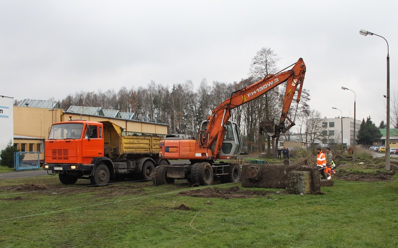 Ruszyły prace budowlane drogi od Szkoły Podstawowej nr 3 do ul. Wiatrakowej