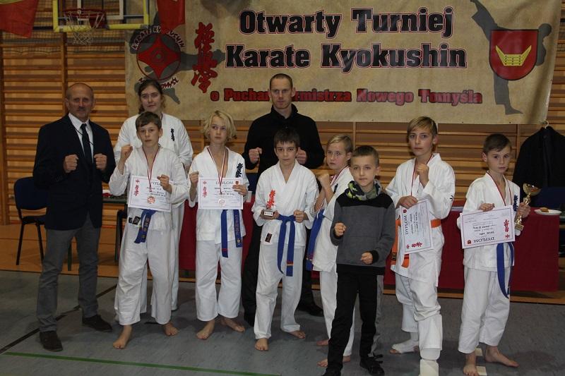 Turniej karate kyokushin w Nowym Tomyślu