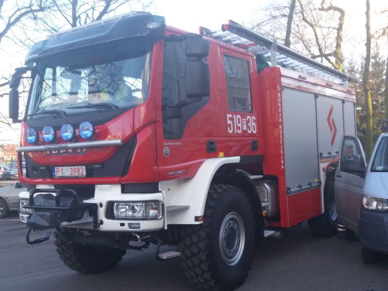 Zakup średniego samochodu ratowniczo-gaśniczego dla OSP Boruja Kościelna