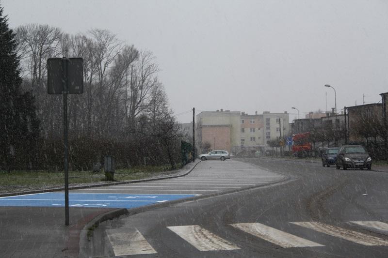 Nowy parking na ul. Olchowej