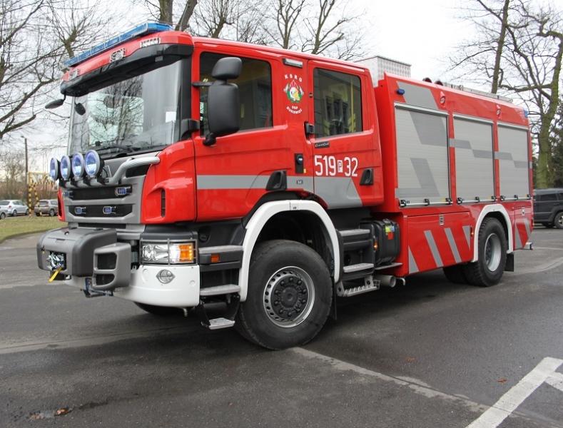 Zakup ciężkiego samochodu ratowniczo-gaśniczego dla OSP Bukowiec