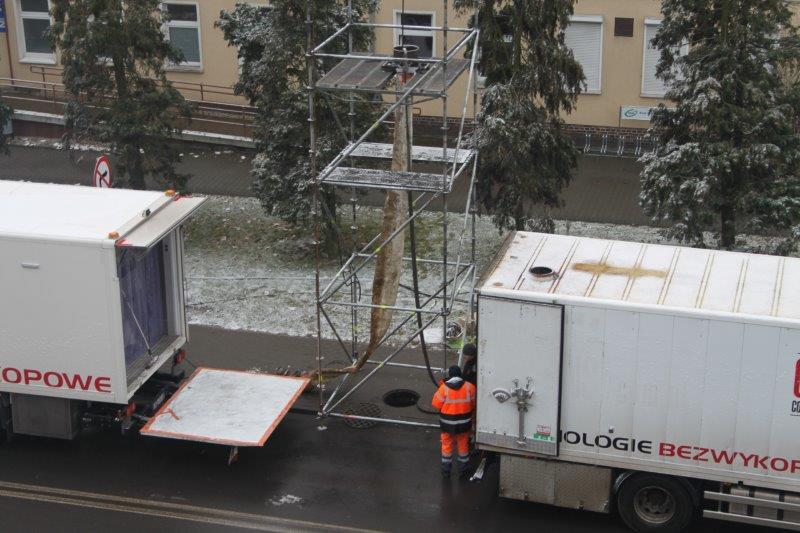 Remont kanalizacji deszczowej w ciągu ulicy Poznańskiej