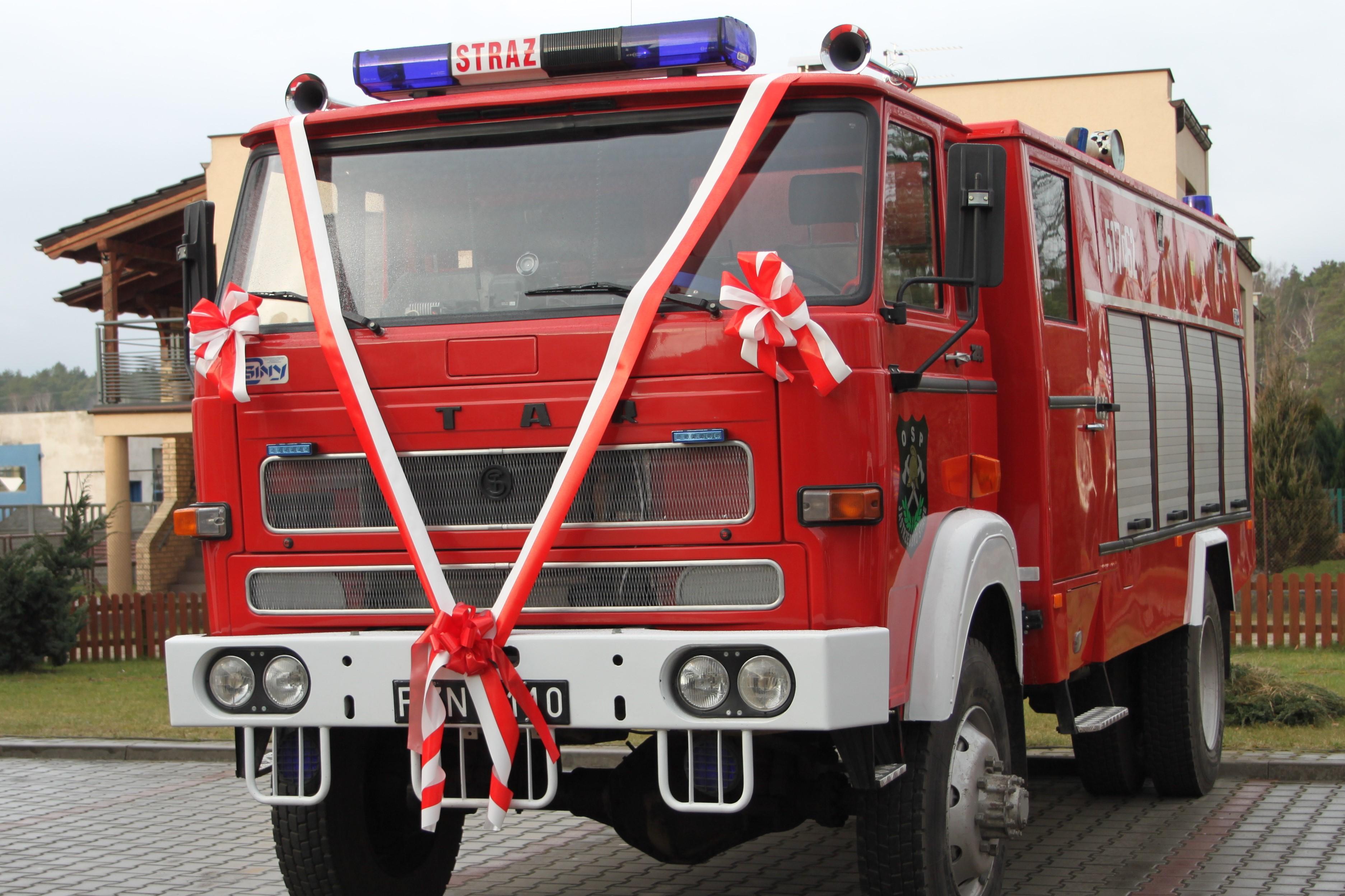 Gmina inwestuje w sprzęt strażacki