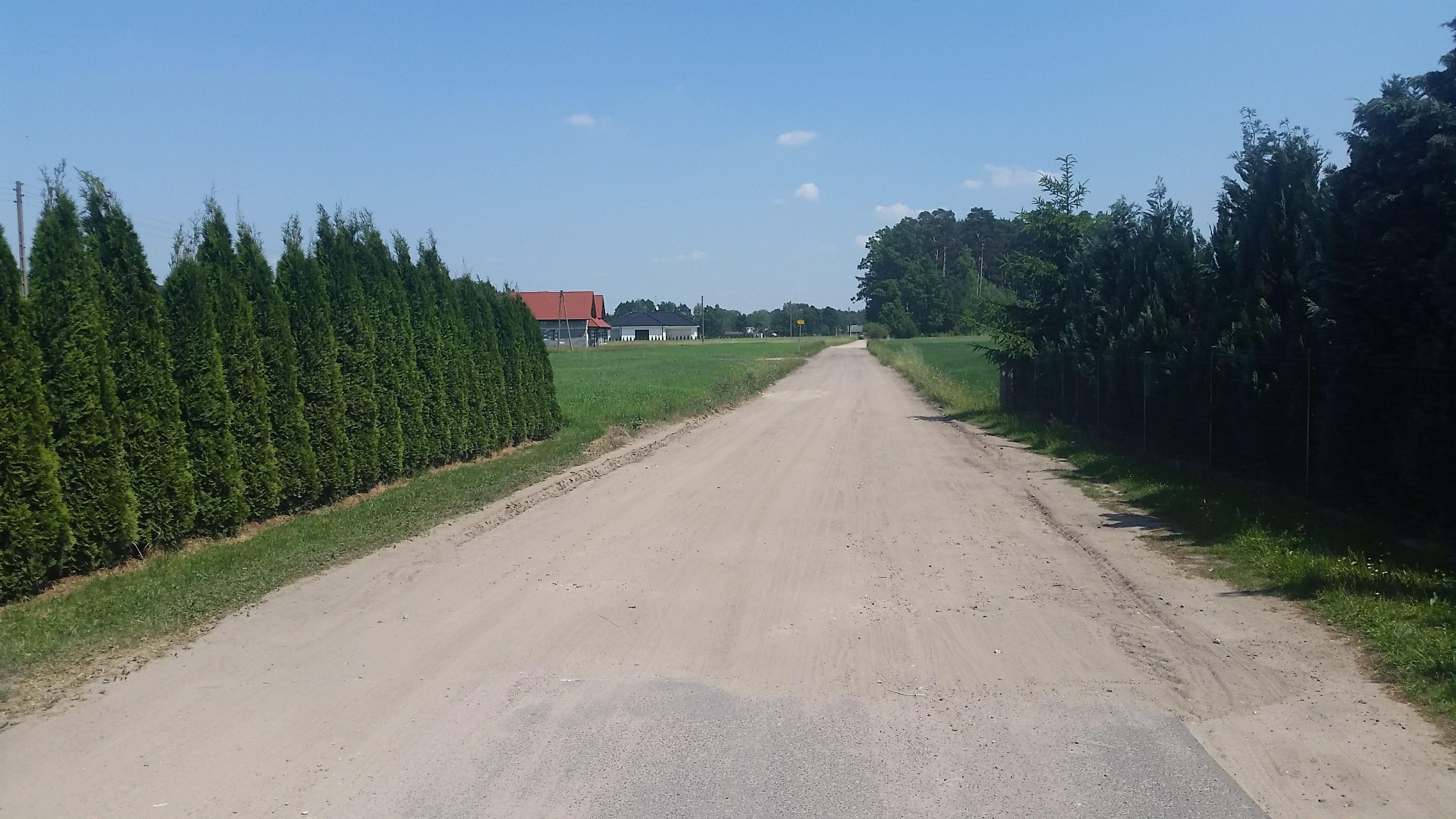 Budowa drogi dojazdowej do gruntów rolnych
