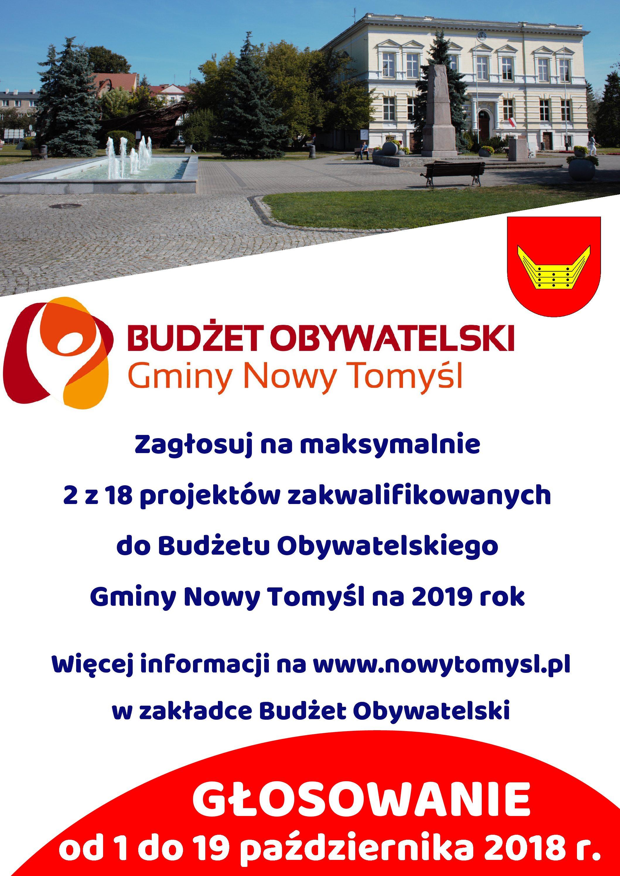 Budżet obywatelski – zapraszamy do udziału w głosowaniu!