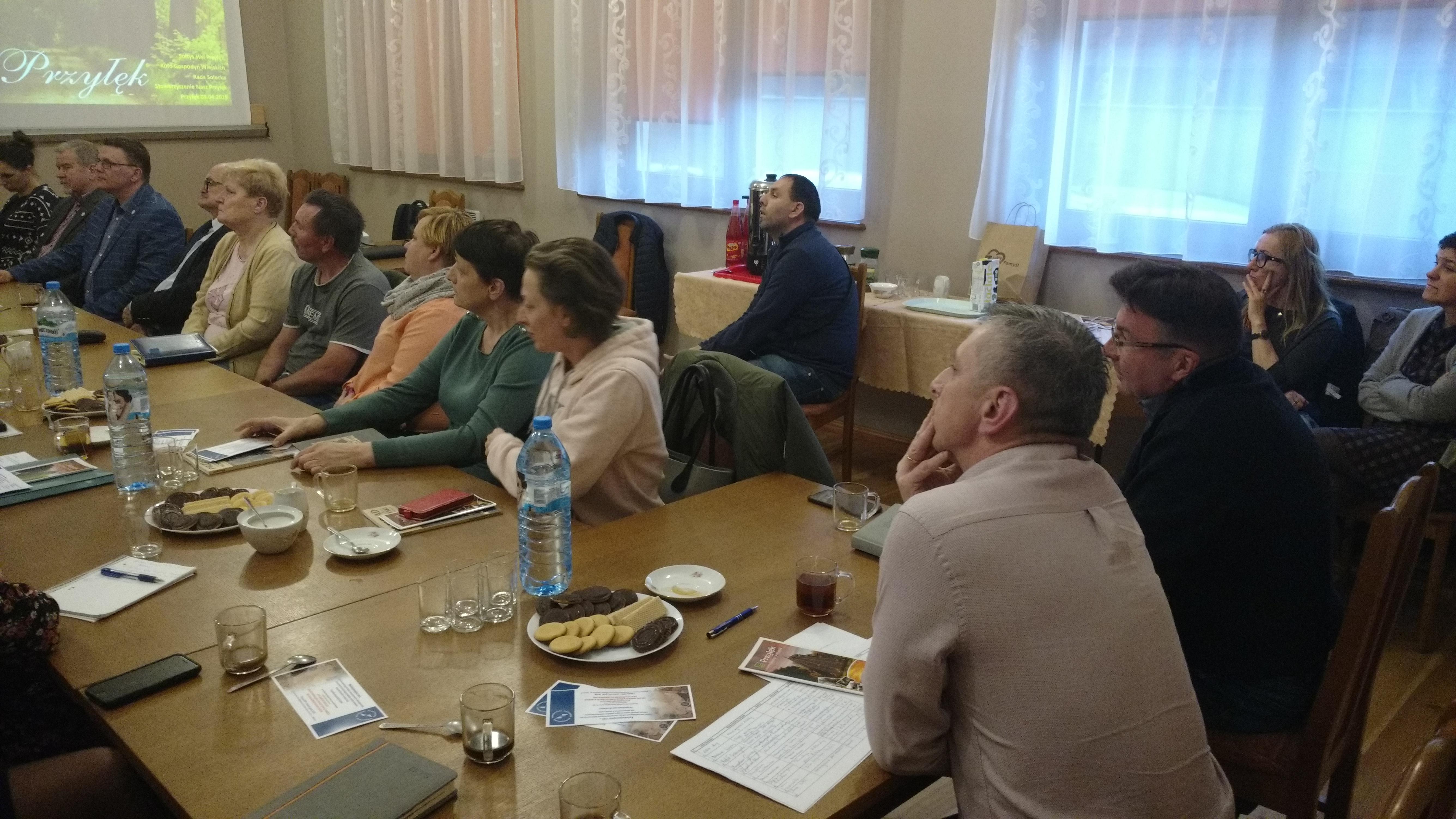 Spotkanie organizacji pozarządowych w Przyłęku