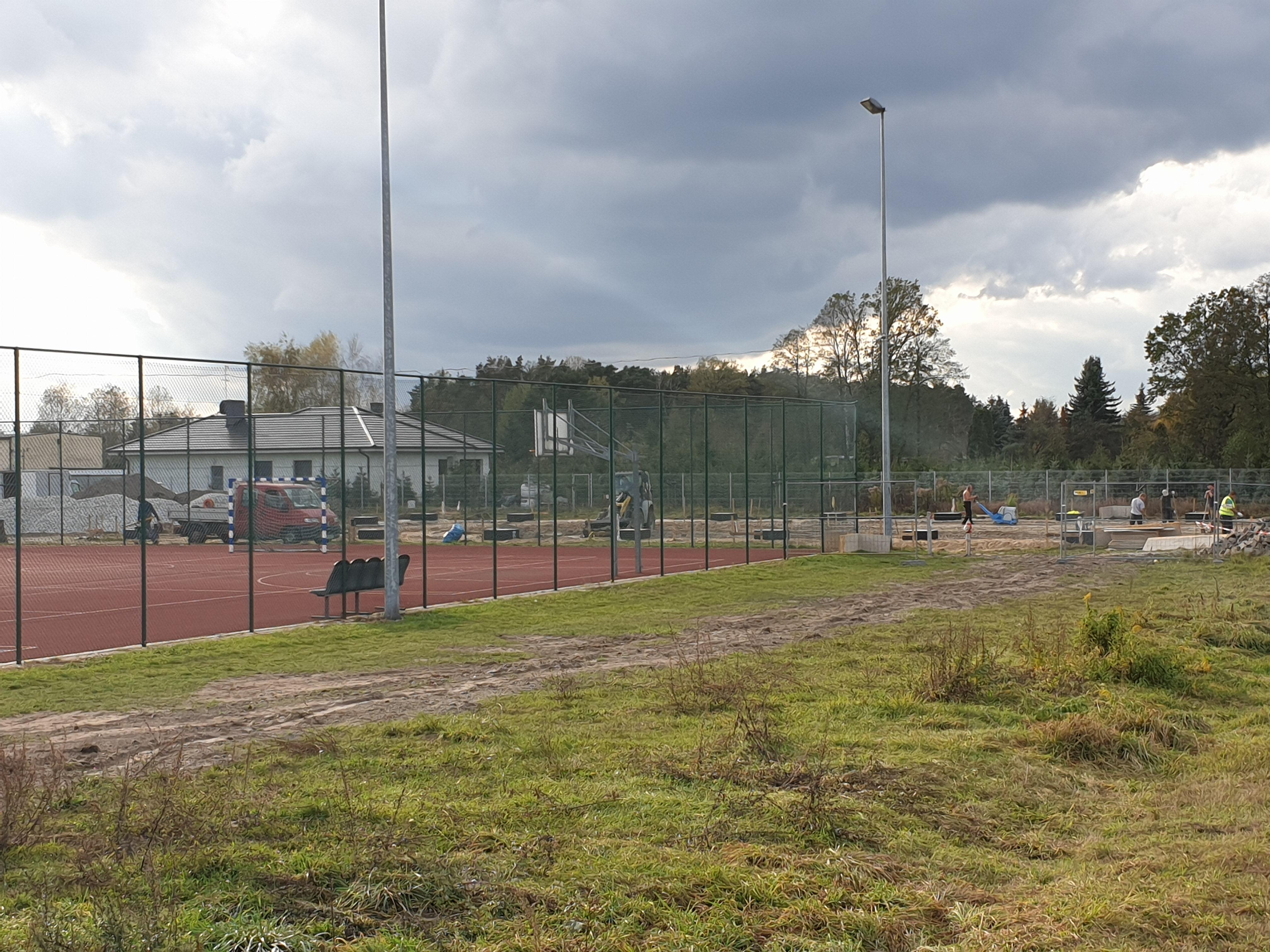 Wielofunkcyjne boisko sportowe