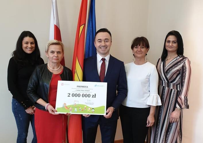 2 000 000 zł dla Gminy Nowy Tomyśl