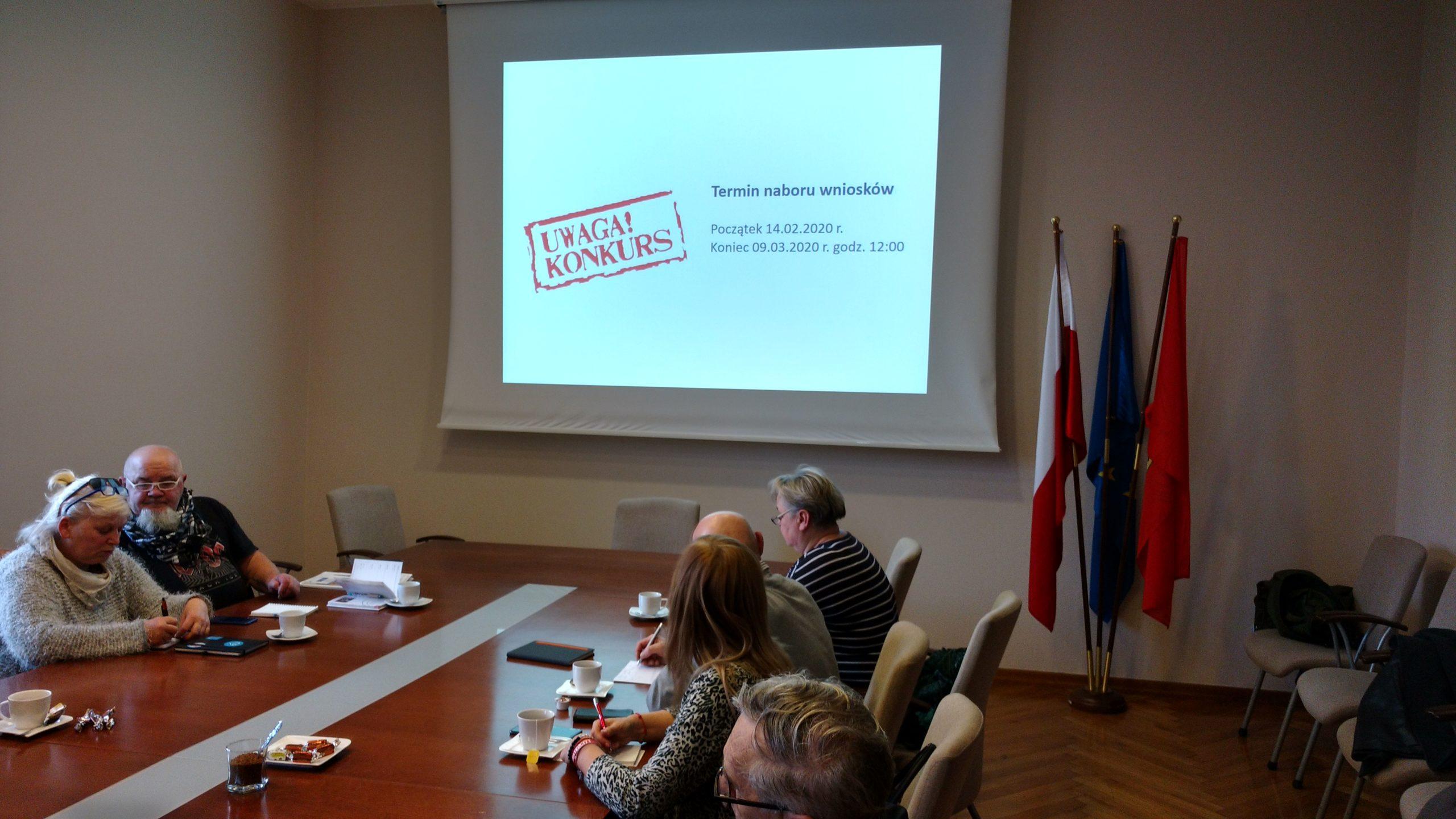 Uczestnicy spotkania poznali zasady konkursu Wielkopolska Wiara