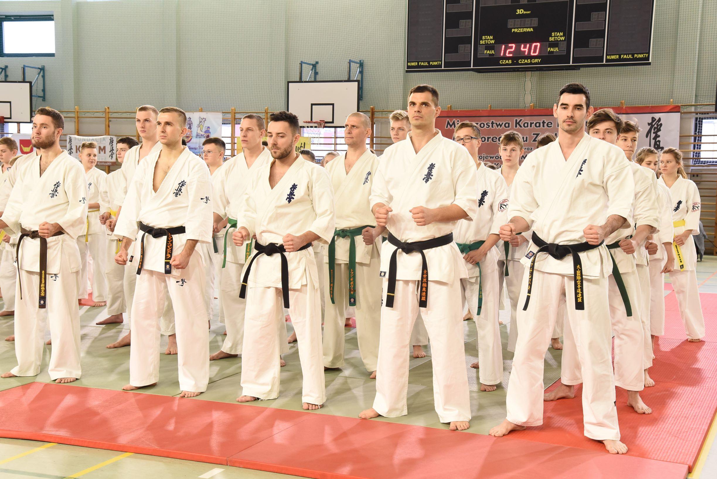 Najlepsi karatecy w Nowym Tomyślu