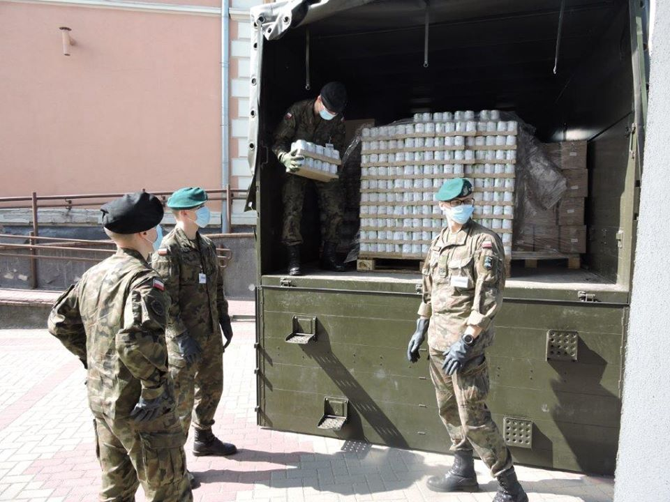 Pomoc żywnościowa dla OPS w Nowym Tomyślu