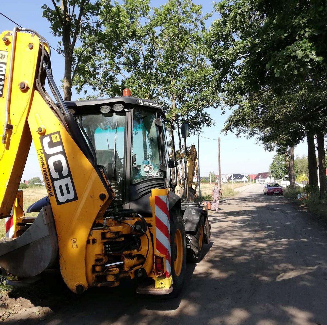 Rozpoczęcie robót budowlanych w Sątopach