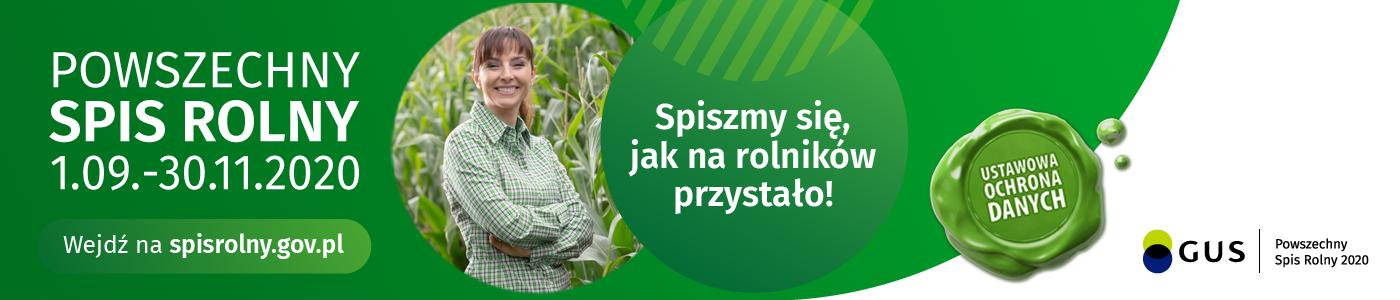 POWSZECHNY SPIS ROLNY 2020 PRZYPOMNIENIE!!!