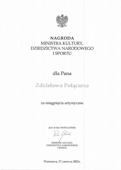 Nagroda Ministra Kultury, Dziedzictwa Narodowego i Sportu