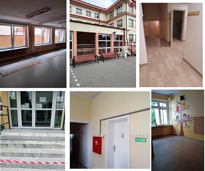 Prace remontowe w placówkach oświatowych na terenie Nowego Tomyśla.