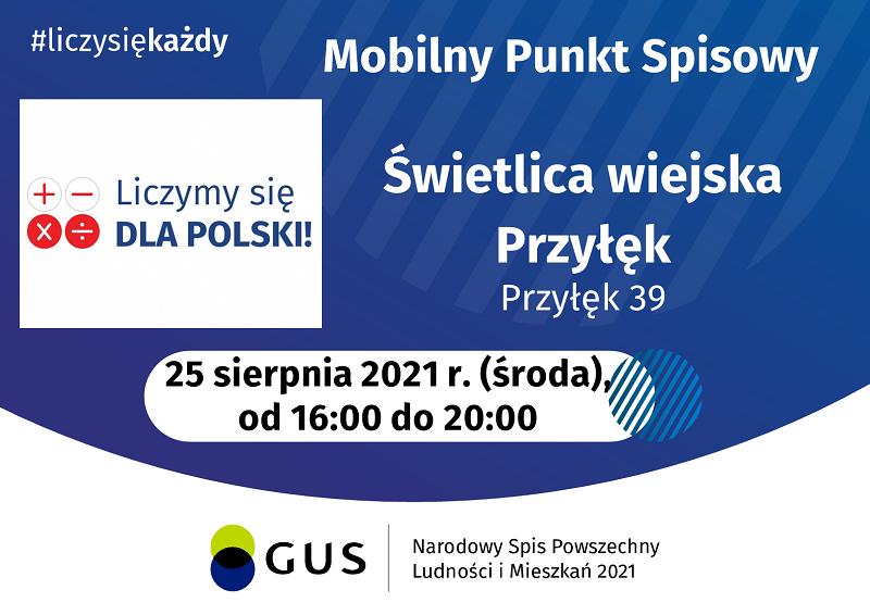 Mobilny Punkt Spisowy w Przyłęku