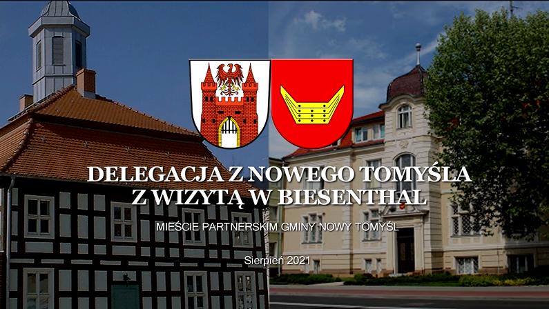 Delegacja z Nowego Tomyśla z wizytą w mieście partnerskim Biesenthal
